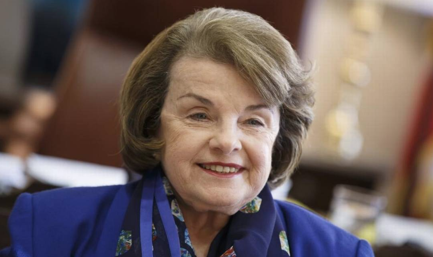 Sen. Dianne Feinstein says California's farms will be harshly affected by a trade war with China. J. Scott Applewhite AP
