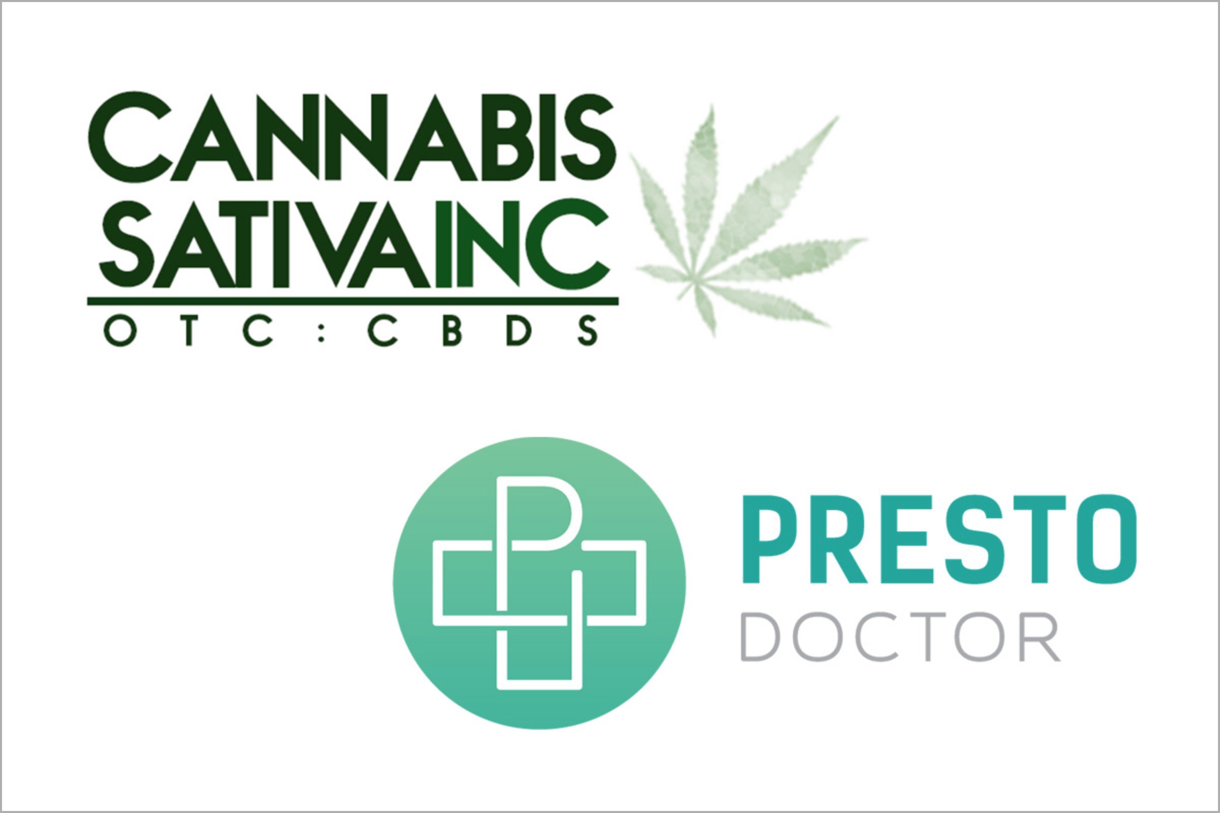 Pennsylvania Medical Marijuana Card, Presto Doctor, Cannabis Sativa Inc