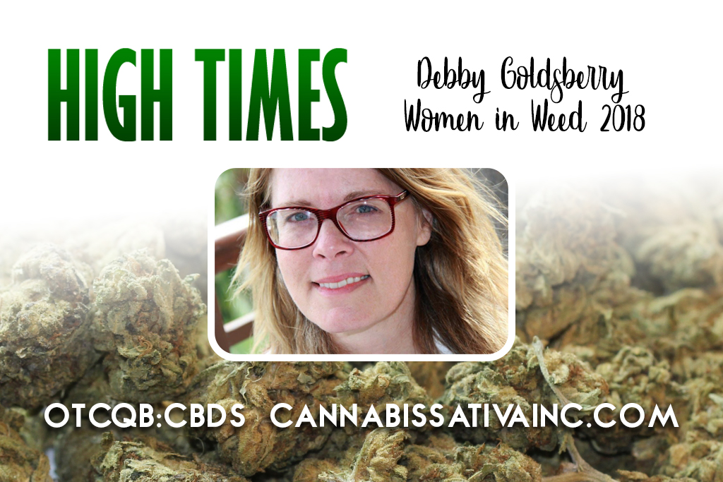debby goldsberry hight times cannabis sativa inc