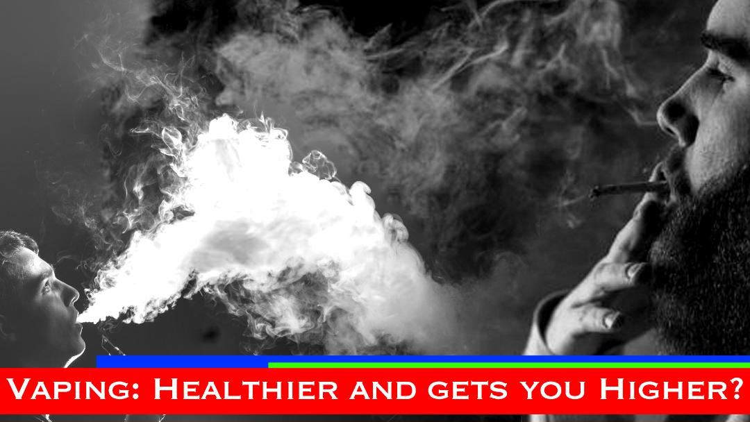 vaping is healthier